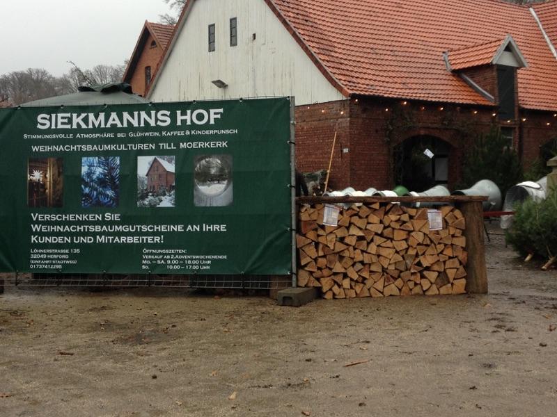 Brennholz - Aktion auf Siekmanns Hof